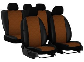 калъфи за седалки направени по мярка кожени DACIA LOGAN I (2004-2012)