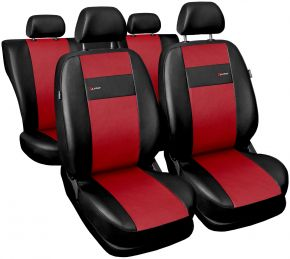 калъфи за седалки универсален X-Line червен