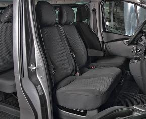 калъфи за седалки направени по мярка Tailor Made DV2 За NISSAN NV300