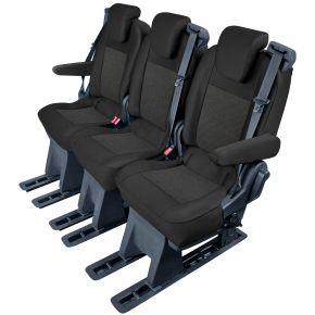 калъфи за седалки направени по мярка Tailor Made За FORD TOURNEO CUSTOM (2018→)