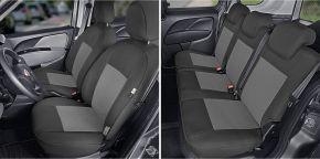 калъфи за седалки направени по мярка Tailor Made За FIAT DOBLO IV 5m. (2015→)