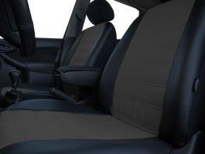 калъфи за седалки направени по мярка кожени FIAT 500