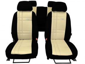 калъфи за седалки направени по мярка кожа Stype KIA CARENS