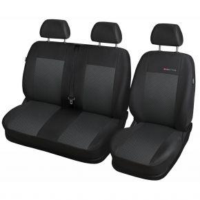 калъфи за седалки за RENAULT Trafic III BUS 2+1(единична седалка) 650-P3