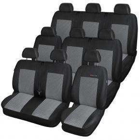 калъфи за седалки за RENAULT Trafic III BUS 9 m., (единична седалка спътник) 651-P2