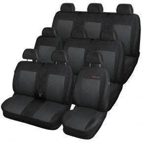 калъфи за седалки за RENAULT Trafic III BUS 9 m., (единична седалка спътник) 651-P3