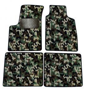 Текстилни стелки, мокети за Fiat Panda 2003-2012 4брой