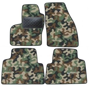Текстилни стелки, мокети за Ford Kuga 2008-2012 4брой