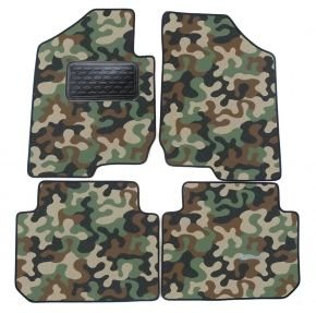 Текстилни стелки, мокети за Kia Carens 2007-up 4брой
