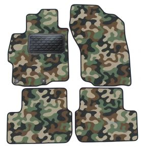 Текстилни стелки, мокети за Mitsubishi Lancer 2008-up 4брой