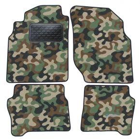 Текстилни стелки, мокети за Nissan Almera  N16  2000-2006 4брой
