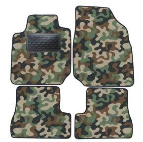 Текстилни стелки, мокети за Nissan Micra K12 2003-2009 4брой