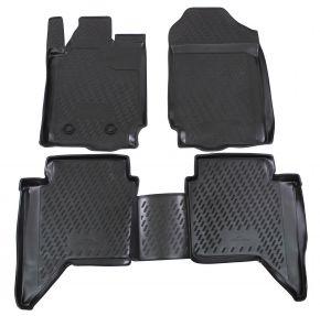 Гумени стелки за FORD Ranger  4 doors  2012-up 4 брой