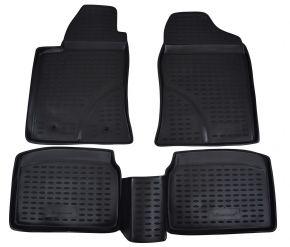Гумени стелки за TOYOTA Avensis  2003-2009  4 брой