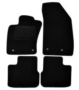 Велурени стелки за кола Fiat Tipo (hatchback,wagon), 2015-