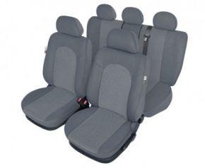 калъфи за седалки Atlantic пепеляв - комплект Fiat Punto Evo Универсални калъфи