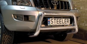 Предни протектори за Steeler Toyota Land Cruiser 120 2003-2010 Тип А