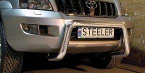Предни протектори за Steeler Toyota Land Cruiser 120 2003-2010 Тип U