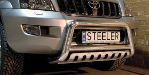 Предни протектори за Steeler Toyota Land Cruiser 120 2003-2010 S Typ