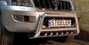 Предни протектори за Steeler Toyota Land Cruiser 120 2003-2010 Тип G