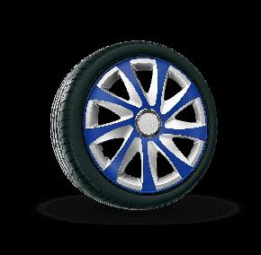 "капаци за колела SEAT 15"", DRIFT EXTRA сребърно синьо  4брой"