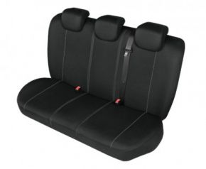 калъфи за седалки HERMAN до задната неразделена седалка черно Fiat Punto Evo Приспособени калъфи