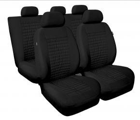 калъфи за седалки универсален MODERN черно, MC-1