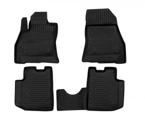 Гумени стелки за FIAT 500L 2013-up 4 брой