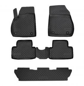 Гумени стелки за OPEL ZAFIRA C 2012-up, 5 SEATS 5 брой
