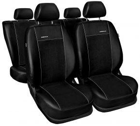 калъфи за седалки Premium за SKODA OCTAVIA III (2013→) със задна лакът. облегалка