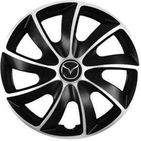 """капаци за колела Mazda 13"""", Quad bicolor, 4 брой"""
