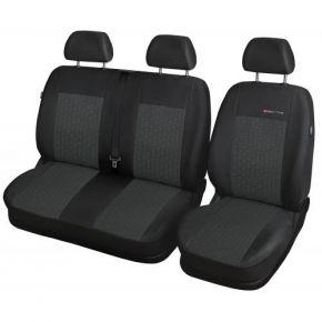 калъфи за седалки за RENAULT Trafic III BUS 2+1(единична седалка) 650-P1