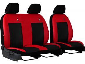 калъфи за седалки направени по мярка кожа ROAD RENAULT MASTER II 2+1 (1998-2003)