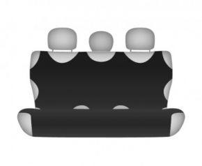 калъфи за седалки COTTON до задната неразделена седалка черно Honda CR-V от2012