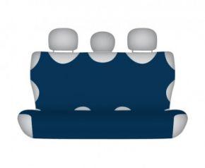 калъфи за седалки COTTON до задната неразделена седалка тъмно синьо Honda CR-V от2012