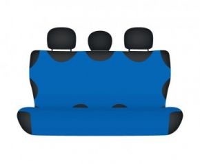 калъфи за седалки COTTON до задната неразделена седалка син Honda CR-V от2012