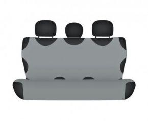 калъфи за седалки COTTON до задната неразделена седалка пепеляв Fiat Punto II