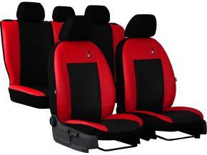 калъфи за седалки универсален кожени ROAD червен