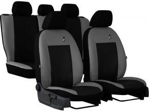 калъфи за седалки универсален кожени ROAD сив