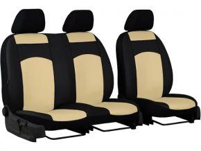 калъфи за седалки направени по мярка кожа STANDARD RENAULT MASTER II 2+1 (1998-2003)