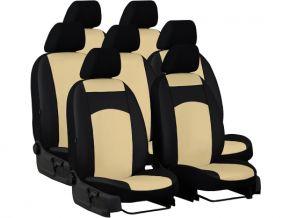 калъфи за седалки направени по мярка кожа STANDARD NISSAN QASHQAI I 2+ 7m. (2009-2013)
