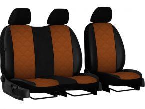 калъфи за седалки направени по мярка кожени RENAULT MASTER II 2+1 (1998-2003)