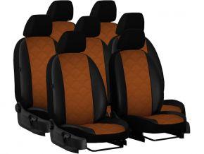 калъфи за седалки направени по мярка кожени NISSAN QASHQAI I 2+ 7m. (2009-2013)