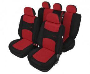 калъфи за седалки Sport line червен - комплект Fiat Punto Evo Универсални калъфи