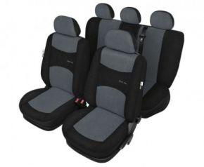 калъфи за седалки Sport line пепеляв - комплект Fiat Punto Evo Универсални калъфи