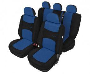 калъфи за седалки Sport line син - комплект Fiat Punto Evo Универсални калъфи