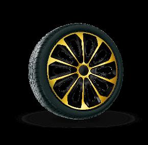 """капаци за колела SEAT 15"""", STRONG EXTRA златен 4брой"""