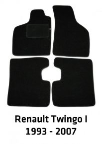 Велурени стелки за кола Renault Twingo I, 1993-2007