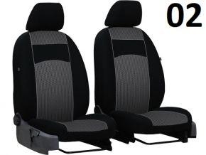 калъфи за седалки направени по мярка Vip MERCEDES VITO W638 1+1 (1996-2003)