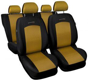 калъфи за седалки универсален SPORT LINE златен
